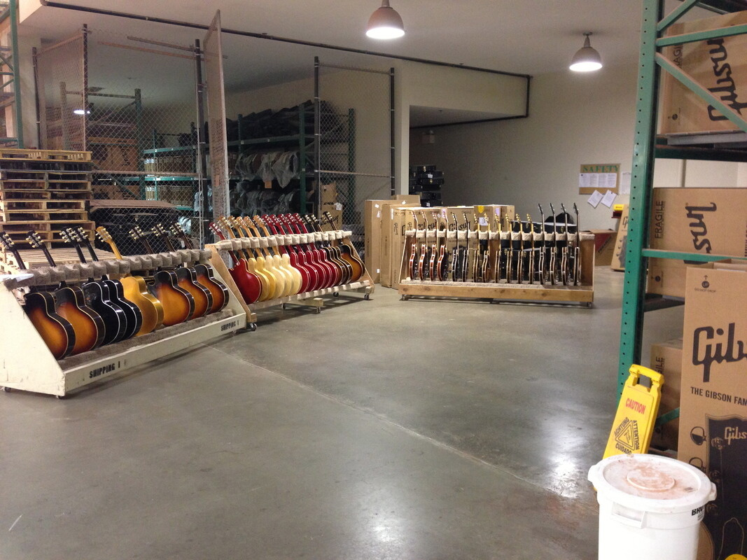 Gibson Memphis and Nashville Factory Visits