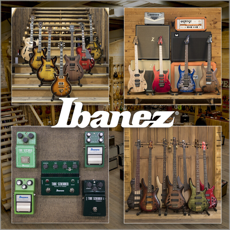 Spoilt for choice - Ibanez Guitars
