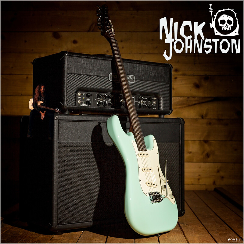Nick Johnston at Peach Guitars