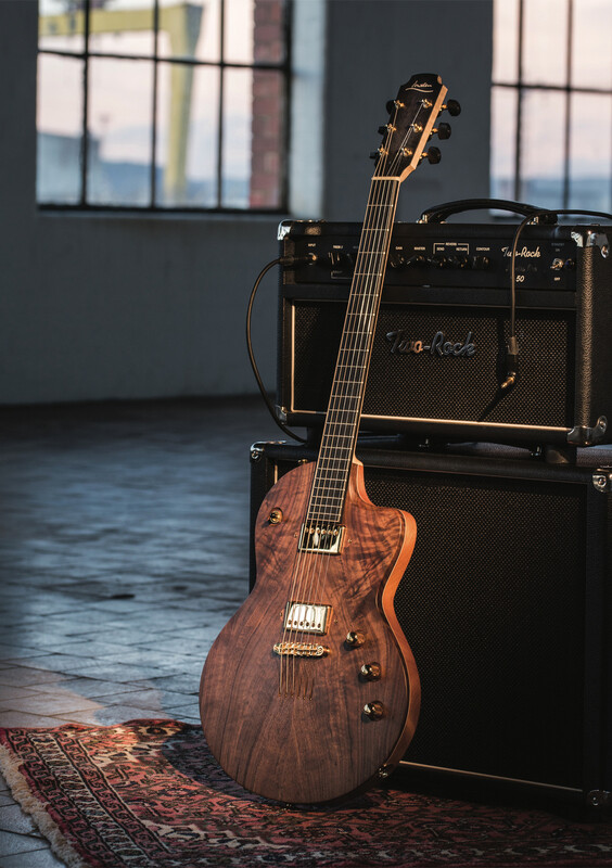 Lowden announce the 'GL-10' Electric guitar