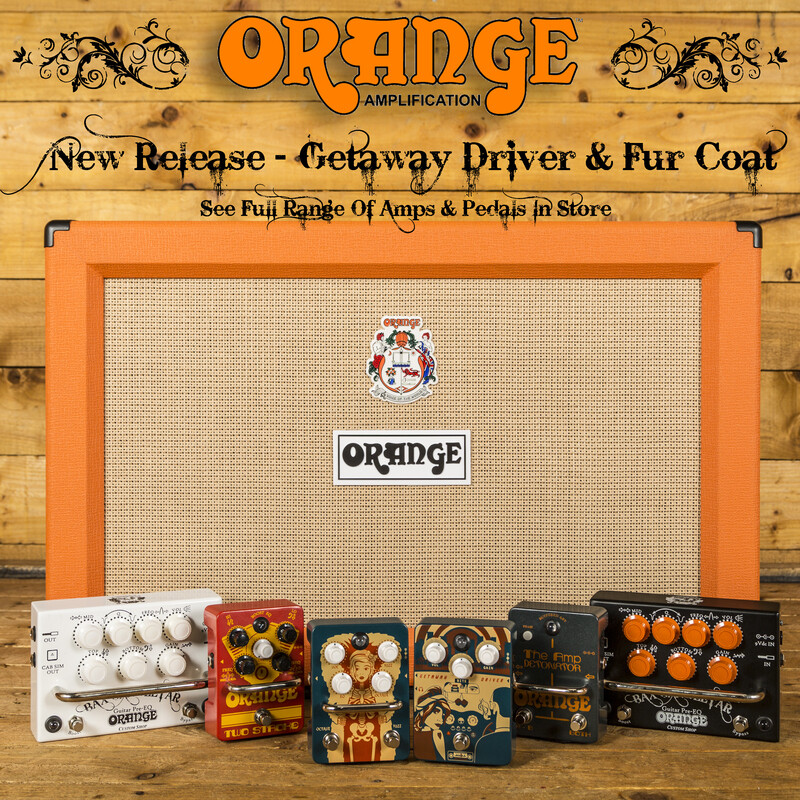 NEW: Orange Fur Coat and Getaway Driver pedals