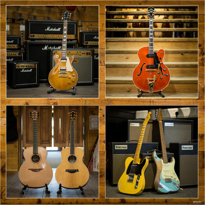 Peach Pre Owned Peach Guitars