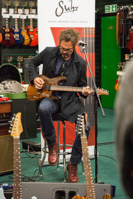 Thanks to Ian Thornley, Suhr and to everyone that came out.