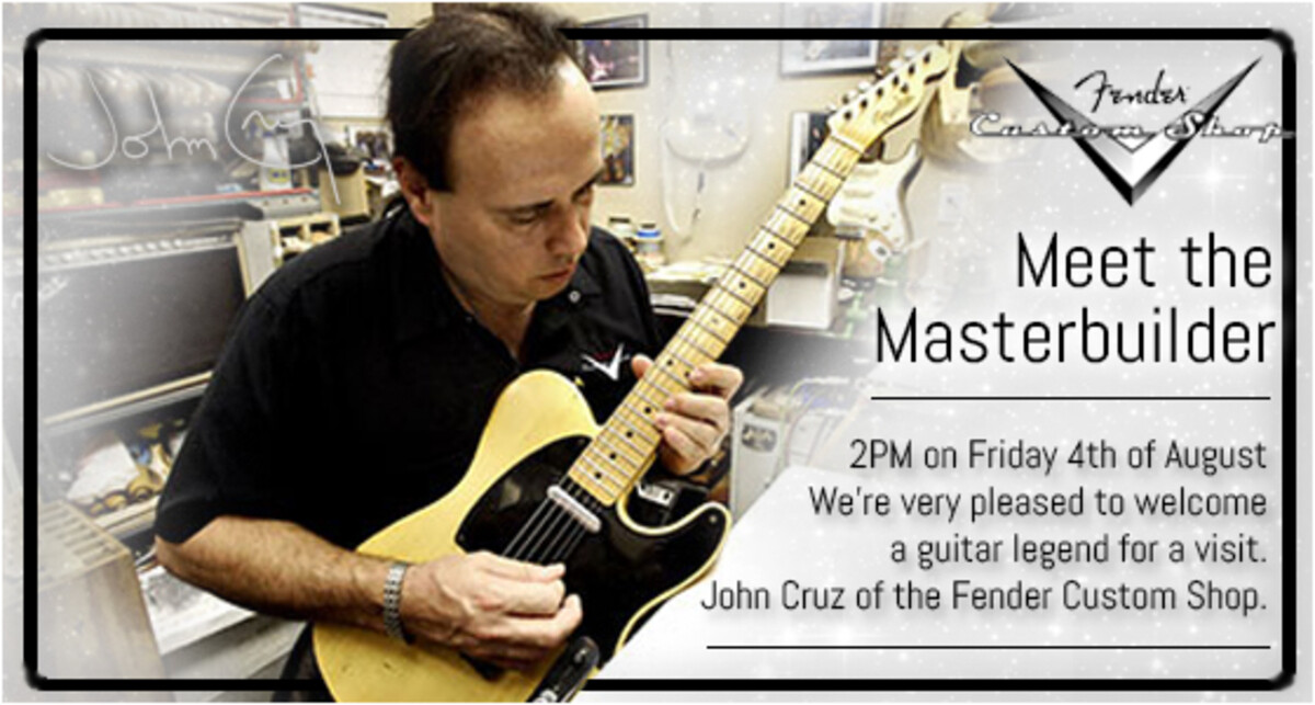 John Cruz Visit - 4th August 2PM.