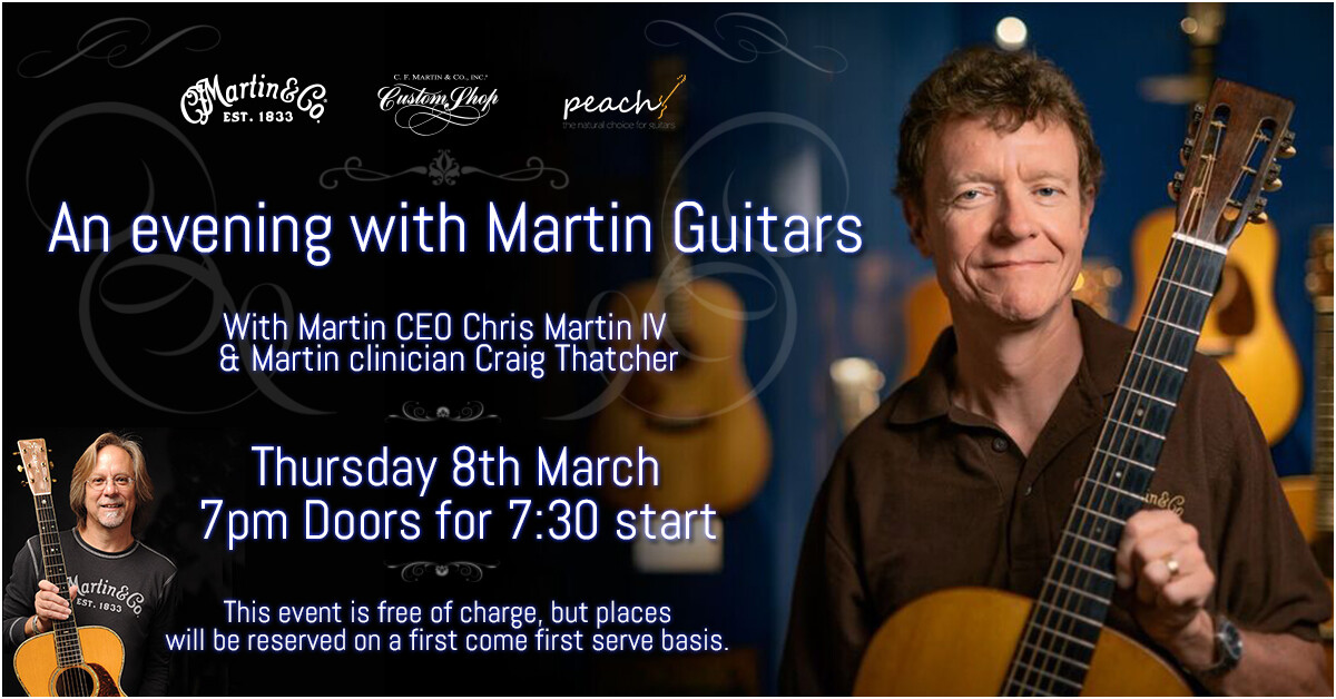 Event - An Evening With Martin Guitars