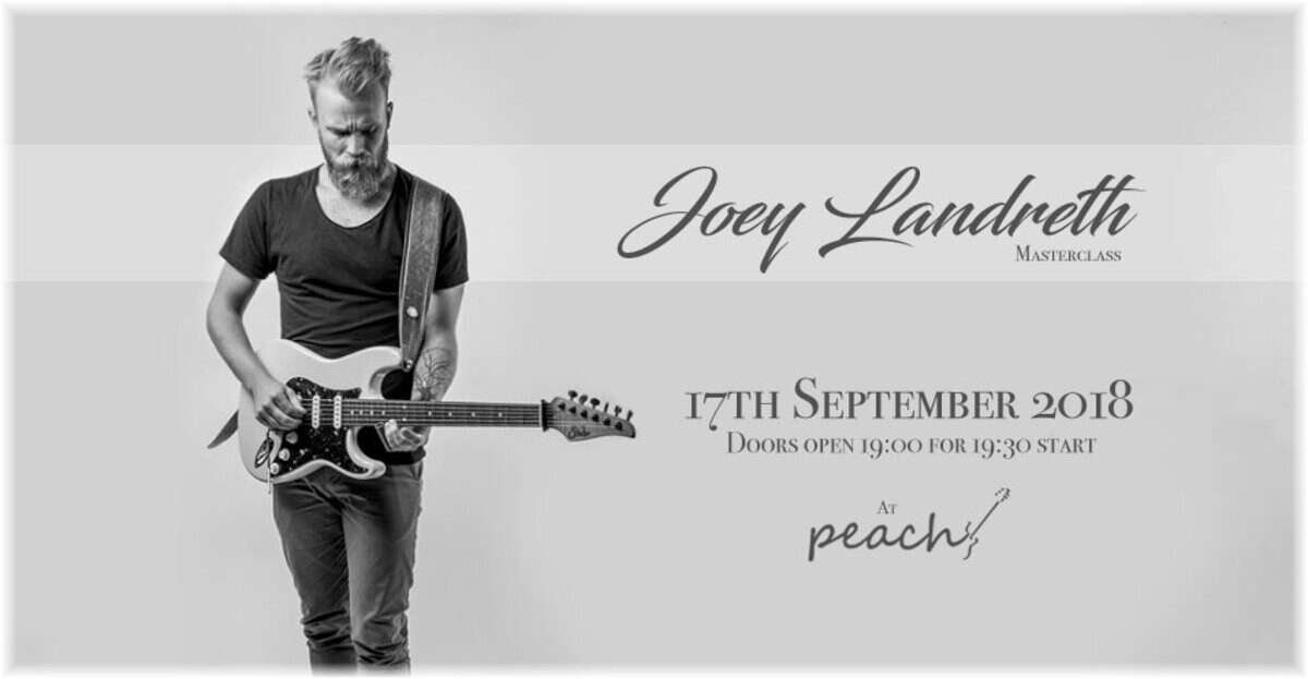 Joey Landreth Masterclass with Reunion Blues gig bags