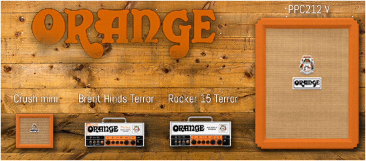 New lines from Orange from NAMM 2018