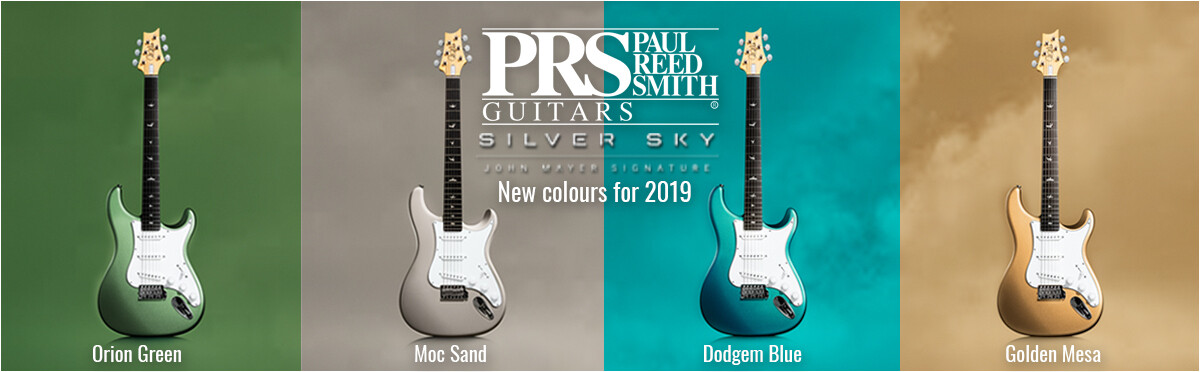 New PRS Silver Sky colours announced for 2019