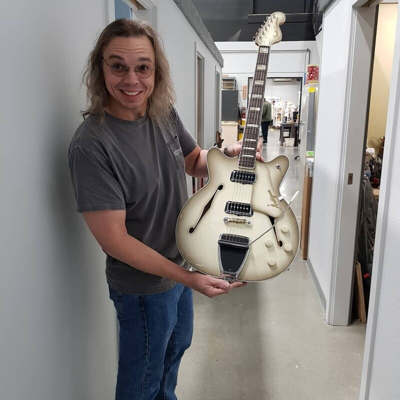 Pre-NAMM trip to the Fender Custom Shop factory.