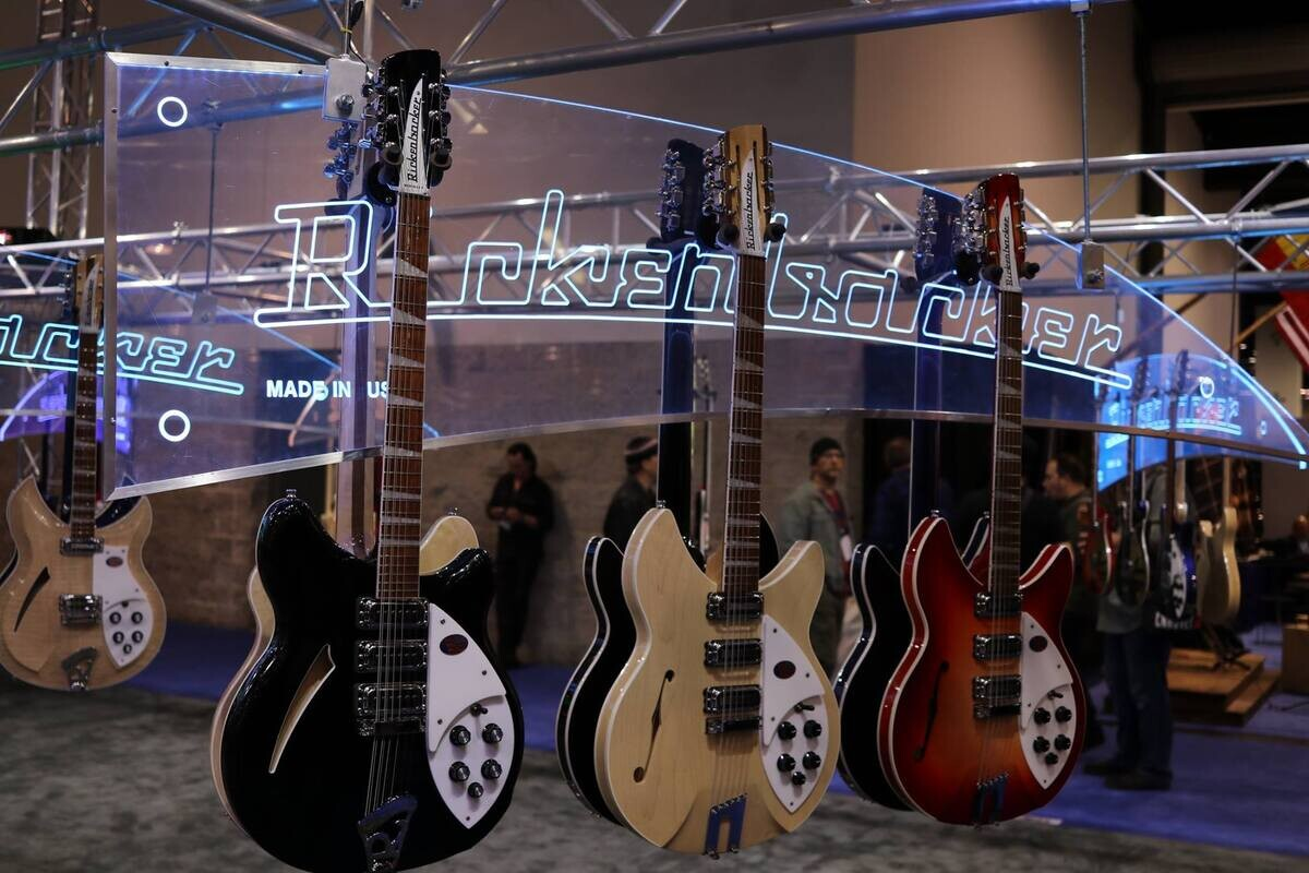 Photos from NAMM day 1.