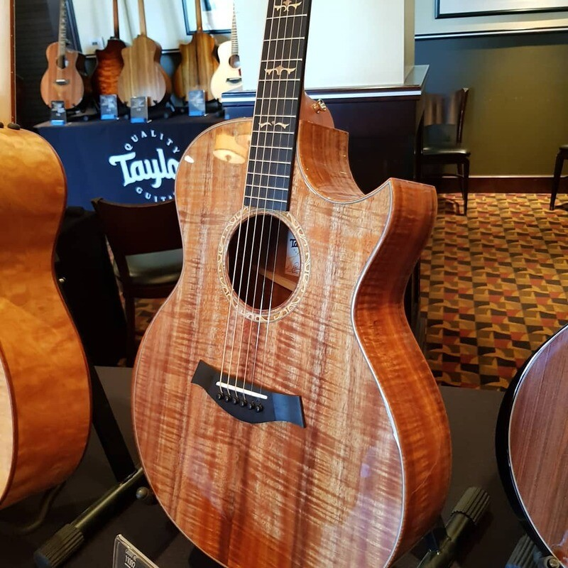 Few snaps from the Taylor Dealer event - Peach Guitars