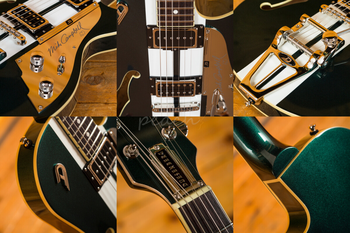 Duesenberg - Art deco flair and monster tone!