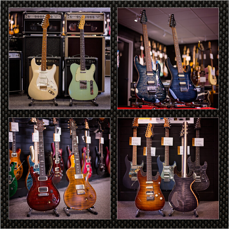 Pre-owned guitars at Peach