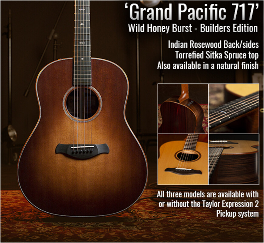New models from Taylor Guitars - 'Grand Pacific'