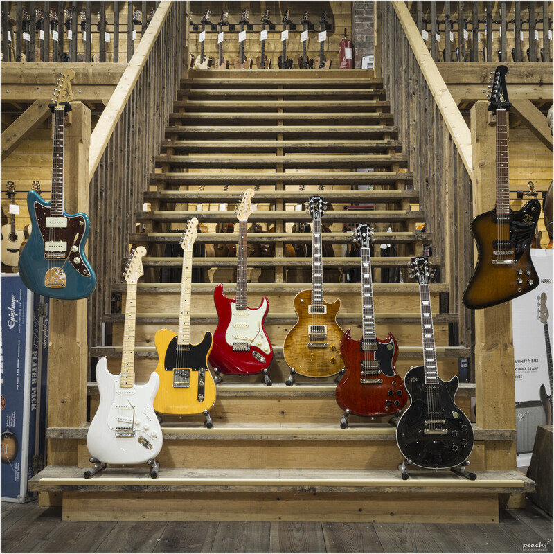 Fender and Gibson 2018 - Electric Guitar Royalty