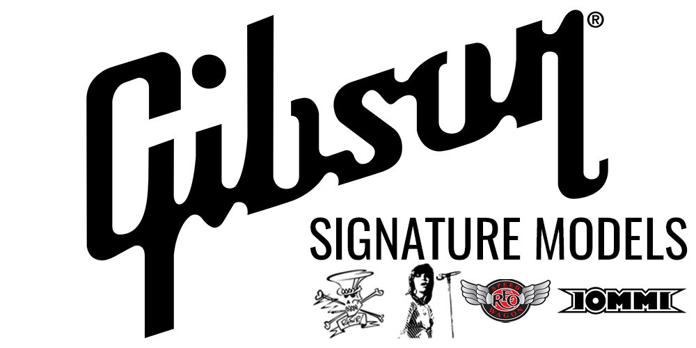 Gibson Signature Guitars at Peach Guitars