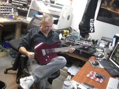 Suhr Guitars factory visit