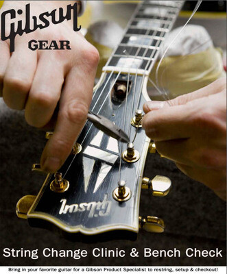 Gibson Restring and Setup Day - 1st August - Colchester Branch.