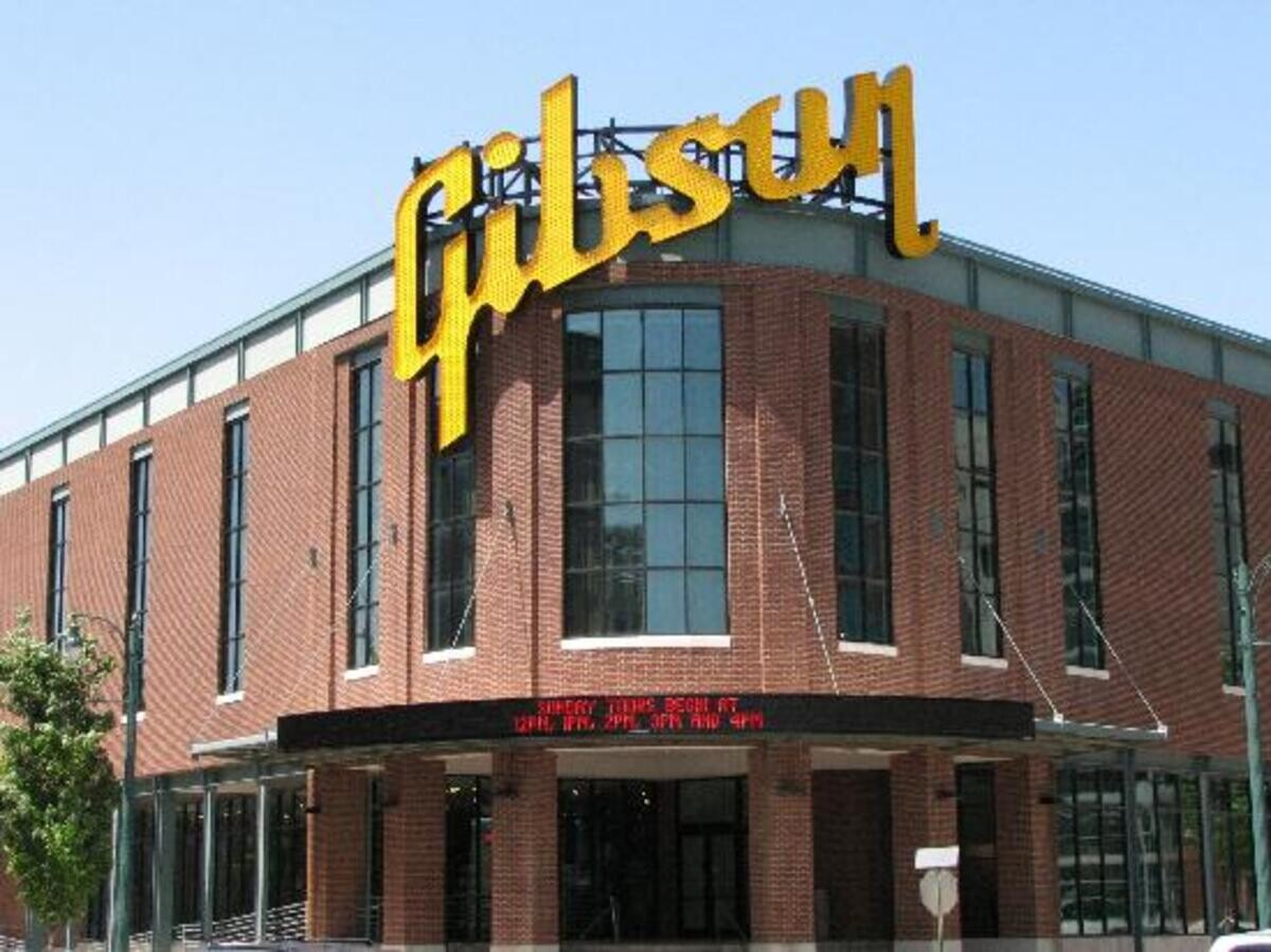 Johns trip to Nashville to visit the Gibson Custom shop