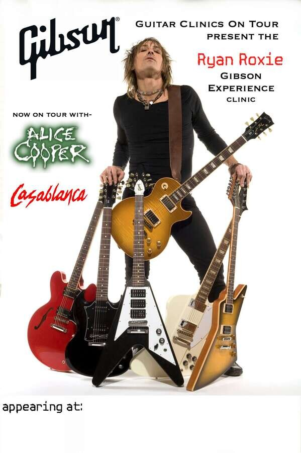 Gibson Guitar Clinic At Peach Guitars Colchester! 11th September